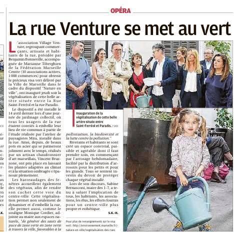 Végétalisation Venture - La Provence